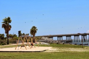 Navarre Park in Navarre, FL 32566 Waterfront Childrens Playground