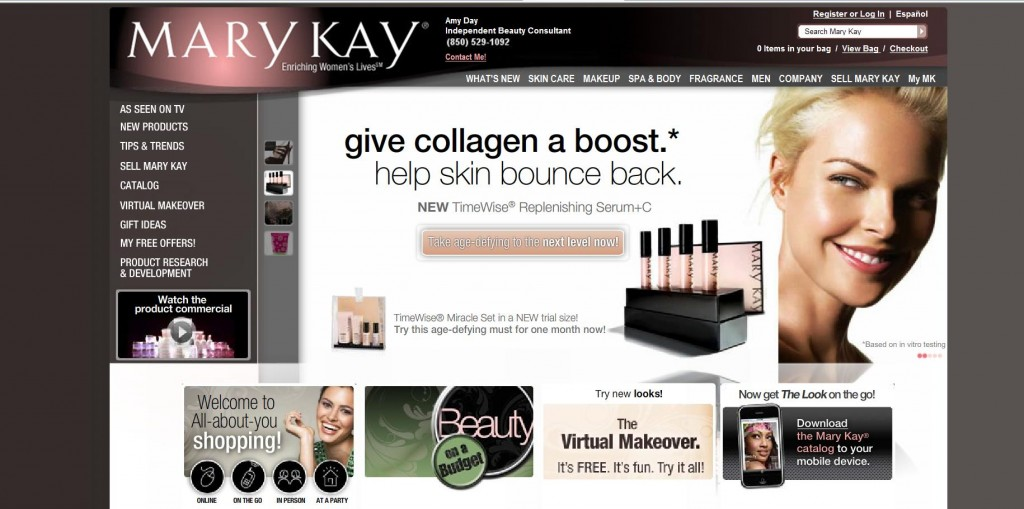 Mary Kay Giveaway!