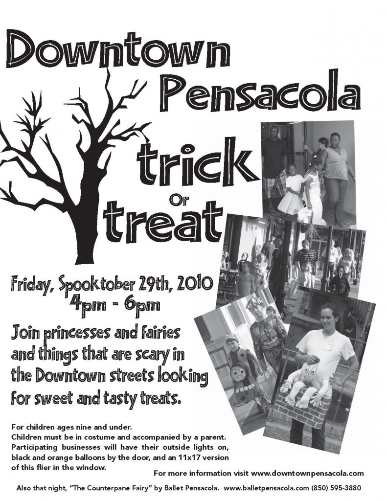 Downtown Pensacola Trick or Treat
