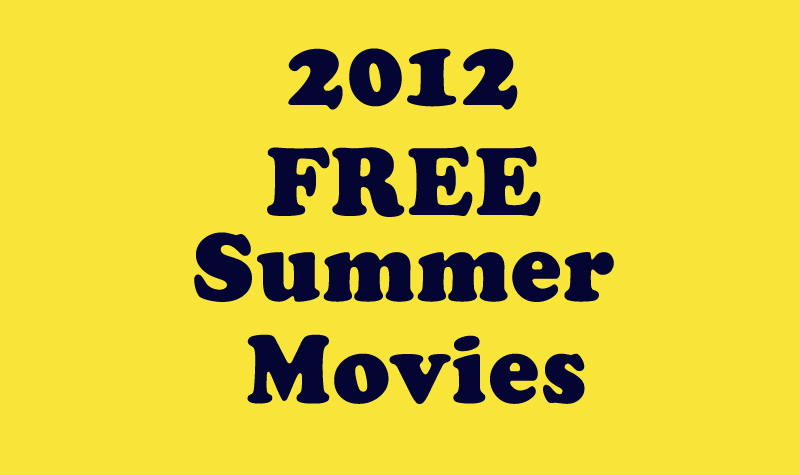 Rave Bayou Free 2012 Summer Movie Schedule