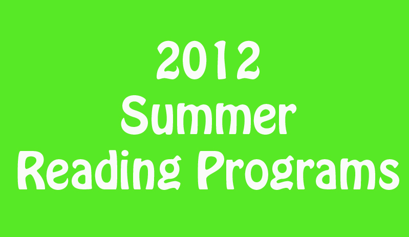 2013 Summer Reading Programs