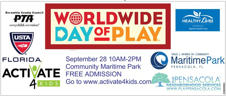"Don't Miss the 2nd Annual ""Nickelodeon Worldwide Day of Play"" at Maritime Park!"
