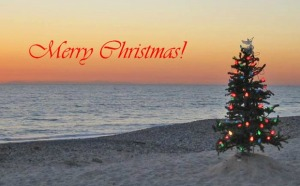 christmas_florida_beach